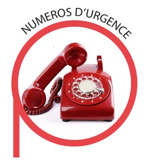 numeros d'urgence