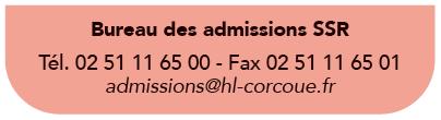 bureau d'admission